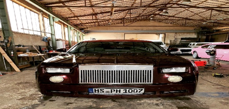 Bordeaux Rot Auto